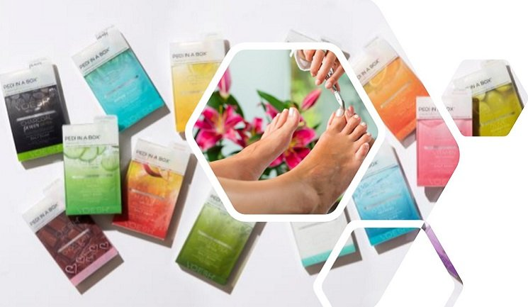 MD Nail Spa Aromatherapy Pedicure